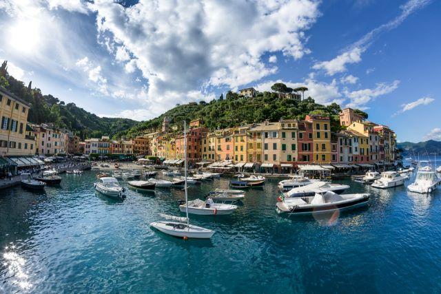 Portofino Italy, harbor